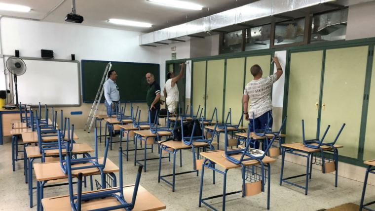 El Ayuntamiento de Albacete tiene previsto invertir en torno a un millón de euros en esta Corporación en obras de mantenimiento y de mejoras en los colegios públicos