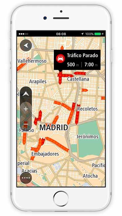 La nueva aplicación tiene una licencia global de mapas para que los conductores puedan utilizarla en más de 150 países sin necesidad de Internet.