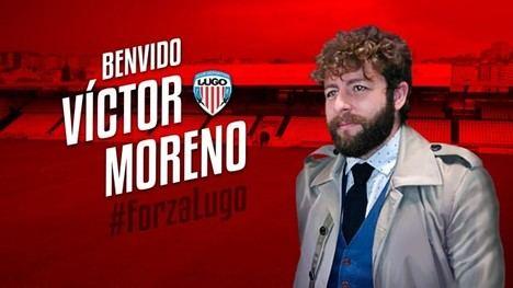 Víctor Moreno, nuevo director deportivo del C.D. Lugo. (foto diario Marca).